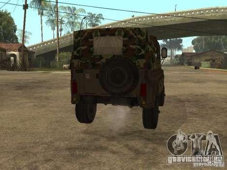 УАЗ 469 для GTA San Andreas вид справа