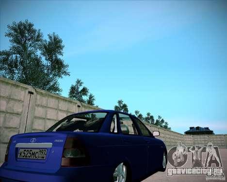 Лада Приора Челси для GTA San Andreas вид справа