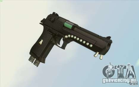 Low Chrome Weapon Pack для GTA San Andreas шестой скриншот