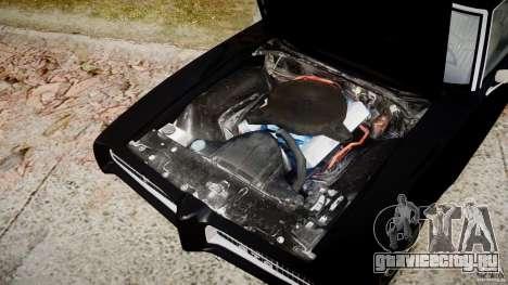 Pontiac GTO Judge для GTA 4 вид изнутри