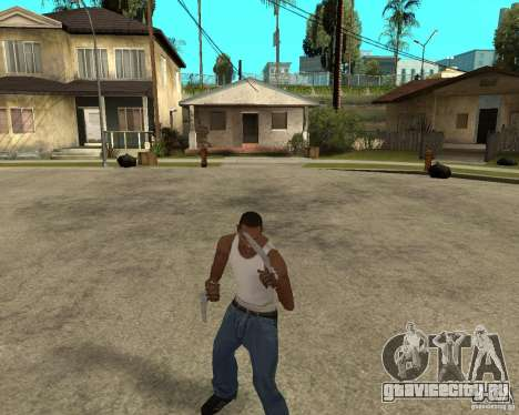 Wolverine mod v1 (Россомаха) для GTA San Andreas третий скриншот