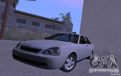 ВАЗ 2170 Priora Pnevmo для GTA San Andreas