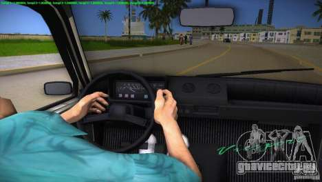 ВАЗ 1111 Ока для GTA Vice City салон