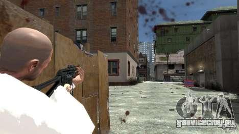 AKS-74U для GTA 4 четвёртый скриншот