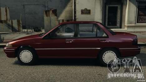 Mercury Tracer 1993 v1.1 для GTA 4 вид слева