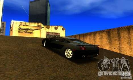 Lamborghini Gallardo для GTA San Andreas вид слева