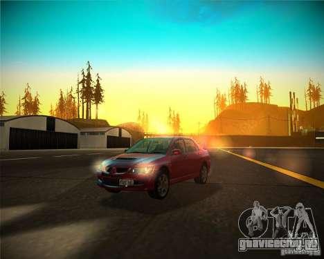 ENBSeries by Sashka911 v4 для GTA San Andreas четвёртый скриншот