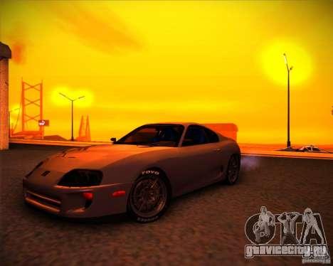 Toyota Supra SHE для GTA San Andreas
