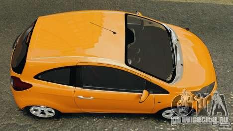 Ford Ka 2011 для GTA 4 вид справа