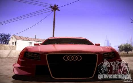 Audi A4 DTM для GTA San Andreas вид сбоку