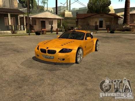 BMW Z4 Style Tuning для GTA San Andreas