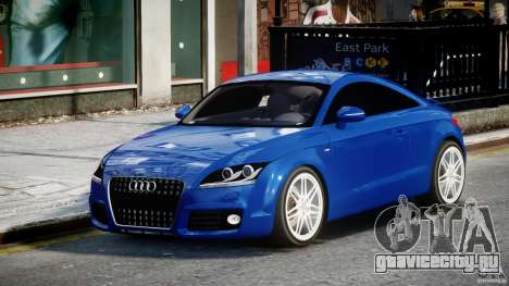 Audi TT RS Coupe v1.0 для GTA 4
