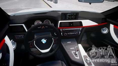 BMW 335i E30 2012 Sport Line v1.0 для GTA 4 вид справа