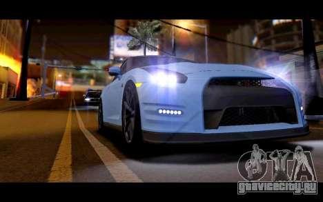 Real World ENBSeries v5.0 Final для GTA San Andreas третий скриншот