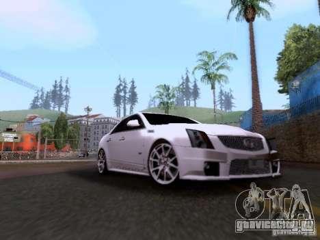 Cadillac CTS-V 2009 для GTA San Andreas вид слева