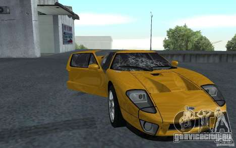 Ford GT 40 для GTA San Andreas вид слева
