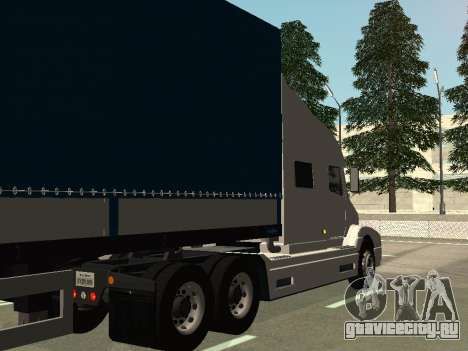Volvo VNL для GTA San Andreas вид справа