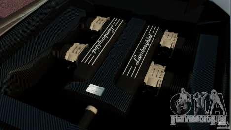 Lamborghini Murcielago LP670-4 SV [EPM] для GTA 4 вид изнутри