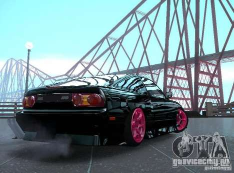 Nissan 240SX Team Top Flight для GTA San Andreas вид слева