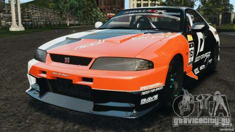 Nissan Skyline GT-R (R33) v1.0 для GTA 4