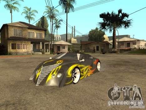 Thunderbold SlapJack для GTA San Andreas вид сбоку