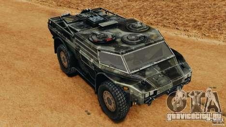 Armored Security Vehicle для GTA 4 вид сверху
