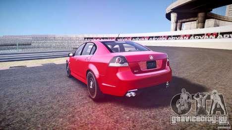 Holden Commodore (CIVIL) для GTA 4 вид сверху