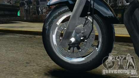 Kawasaki Zephyr для GTA 4 вид изнутри