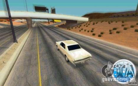 CraZZZy Speedometer v.2.1 Lite для GTA San Andreas второй скриншот