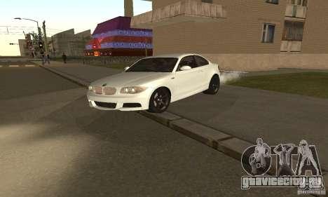 BMW 135i Coupé для GTA San Andreas вид слева