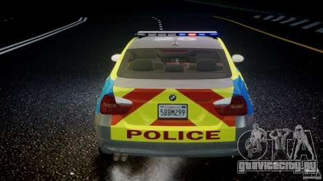 BMW 350i Indonesian Police Car [ELS] для GTA 4 колёса