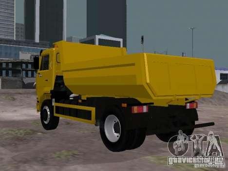 КамАЗ 53605 TAI version 1.1 для GTA San Andreas вид сзади слева