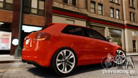Audi S3 2010 v1.0 для GTA 4 вид слева