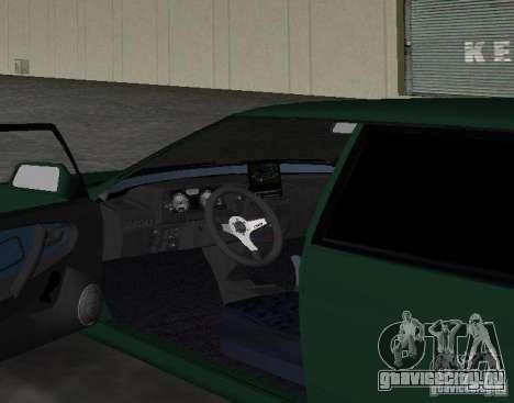 ВАЗ 2109 Tuning v2.0 для GTA Vice City вид сзади