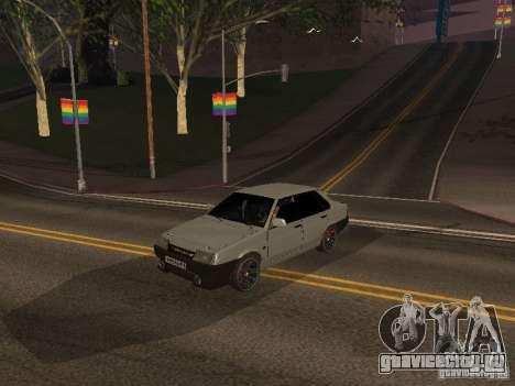ВАЗ 21099 Turbo для GTA San Andreas