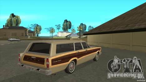 Ford Country Squire 1966 для GTA San Andreas вид справа