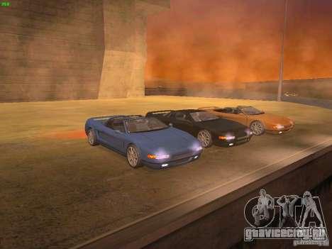 Infernus Revolution для GTA San Andreas вид сзади