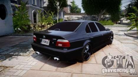BMW M5 E39 Stock 2003 v3.0 для GTA 4 вид сбоку