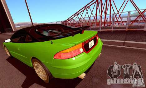 Eagle Talon TSi AWD 1998 для GTA San Andreas вид сзади
