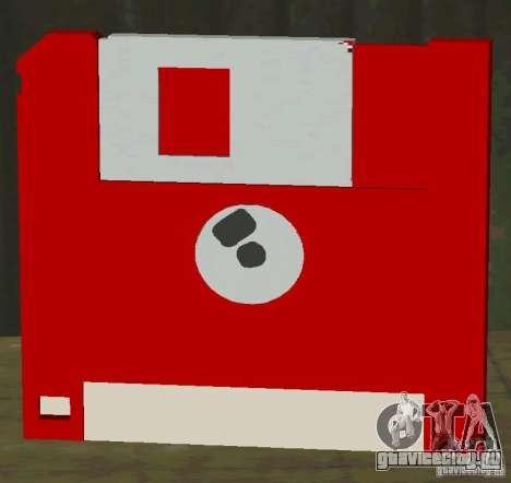 Новая HD дискета сохранения для GTA San Andreas второй скриншот