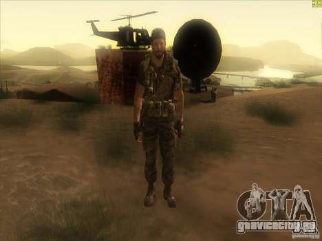 Frank Woods для GTA San Andreas шестой скриншот