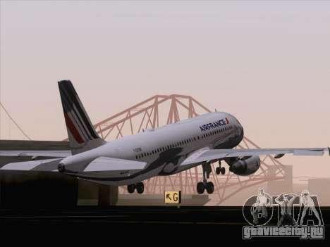 Airbus A320-211 Air France для GTA San Andreas салон