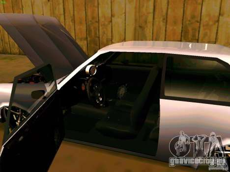 Chevrolet Chevette 1976 TDW Edit для GTA San Andreas вид сзади