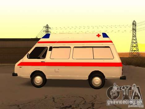 РАФ 2914 Tampo для GTA San Andreas вид слева