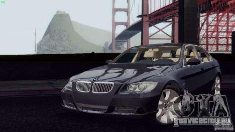 BMW 330i e90 для GTA San Andreas вид справа