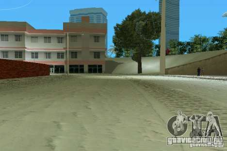 Snow Mod v2.0 для GTA Vice City второй скриншот