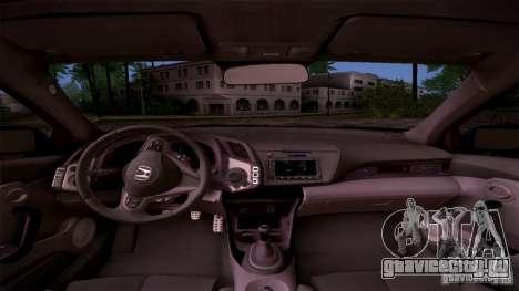 Honda CR-Z 2010 V3.0 для GTA San Andreas вид сбоку