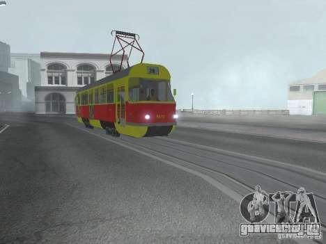 Татра Т3SU для GTA San Andreas вид слева