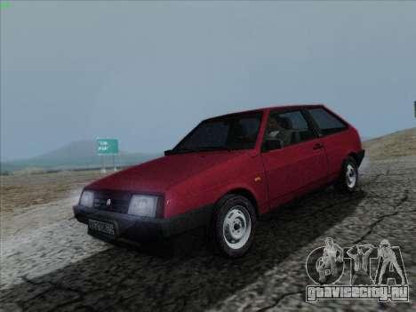 ВАЗ 21083i для GTA San Andreas вид справа