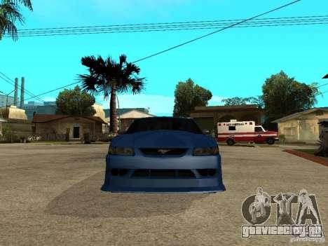 Ford Mustang Cobra R Tuneable для GTA San Andreas вид справа